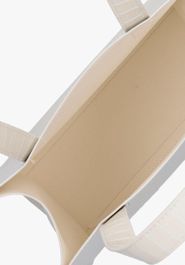 Witte TED BAKER Handtas REPTCON  - larger