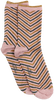 Grijze BECKSONDERGAARD Sokken TWISTY DARYA SOCK  - small