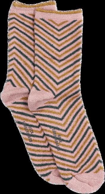 Grijze BECKSONDERGAARD Sokken TWISTY DARYA SOCK  - large