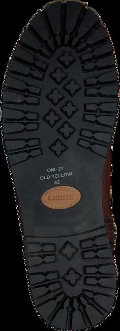 Cognac BLACKSTONE Lange laarzen OM21  - large