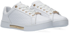 Witte TOMMY HILFIGER Lage sneakers TH MONOGRAM ELEVATED  - small