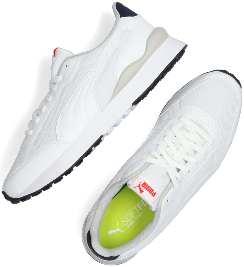 Witte PUMA Lage sneakers R78 FUTR DECON - larger