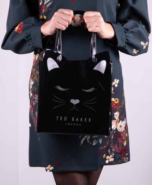 Zwarte TED BAKER Handtas PURRCON  - large