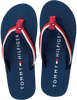 Blauwe TOMMY HILFIGER Slippers T3X0-00138  - small