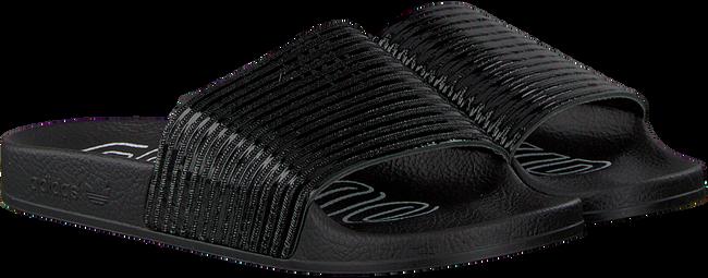 Zwarte ADIDAS Slippers ADILETTE DAMES