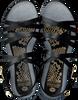 Zwarte FRED DE LA BRETONIERE Sandalen 170010105 FRS0655  - small