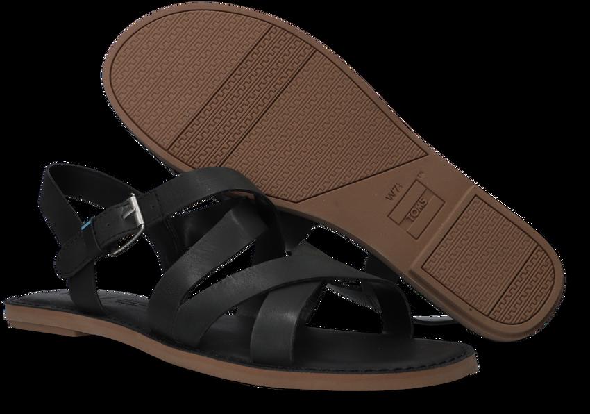 Zwarte TOMS Sandalen WM SICILY SAND  - larger
