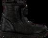Zwarte TON & TON Enkellaarsjes 292531  - small
