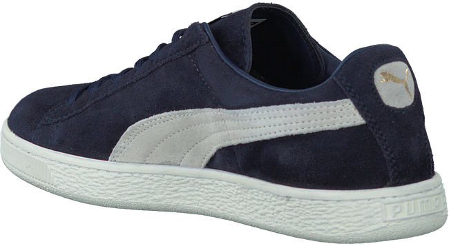 Blauwe PUMA Sneakers SUEDE CLASSIC  - large