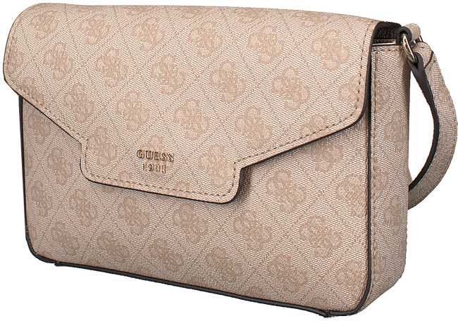 Beige GUESS Schoudertas HWSG68 57210 - large