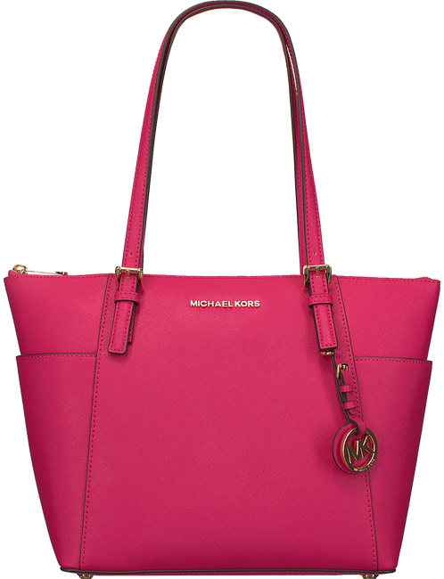 Roze MICHAEL KORS Shopper EW TZ TOTE - large