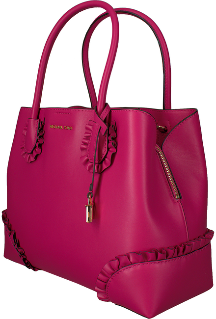 Roze MICHAEL KORS Handtas MD CENTER ZIP TOTE - large