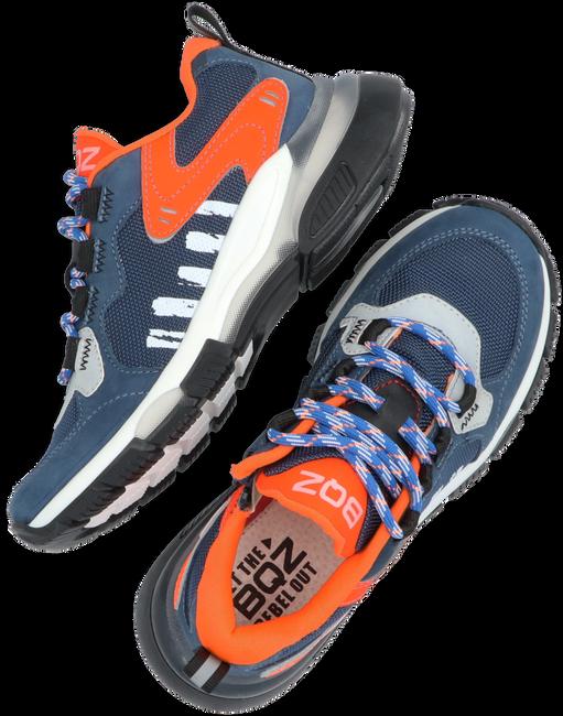 Blauwe BRAQEEZ Lage sneakers GIO GENNA  - large