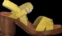 Gele RED-RAG Sandalen 79174  - medium