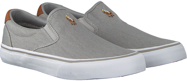 Grijze POLO RALPH LAUREN Slip-on sneakers THOMPSON NY8Suzhu