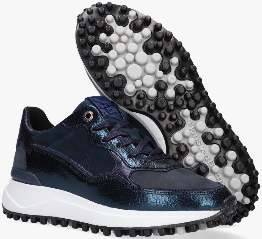 Blauwe FLORIS VAN BOMMEL Lage sneakers 85343  - larger