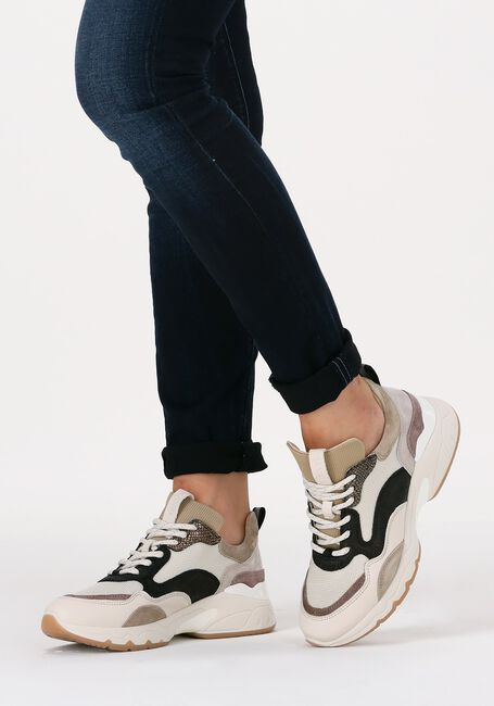 Grijze VIA VAI Lage sneakers ZAIRA  - large