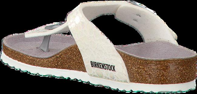 Witte BIRKENSTOCK PAPILLIO Slippers GIZEH KIDS  - large
