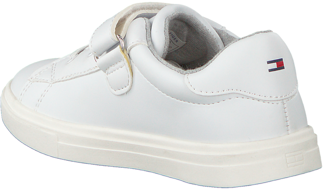 Witte TOMMY HILFIGER Sneakers LOW CUT LACE UP/VELCRO  - large