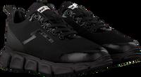 Zwarte RED-RAG Lage sneakers 13335  - medium