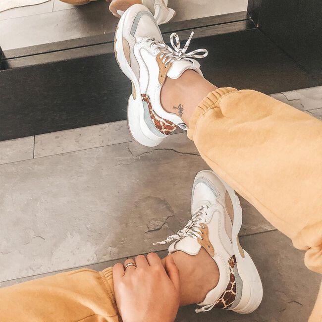 Witte VIA VAI Lage sneakers ZAIRA FAE - large