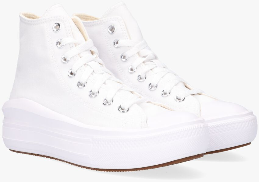 Witte CONVERSE Hoge sneaker CHUCK TAYLOR ALL STAR MOVE HI  - larger