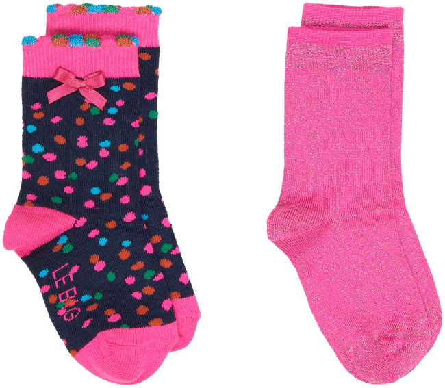Roze LE BIG Sokken KYARA SOCK 2-SOCK  - large