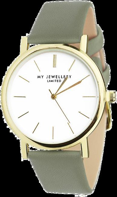 Groene MY JEWELLERY Horloge MY JEWELLERY LIMITED WATCH - large