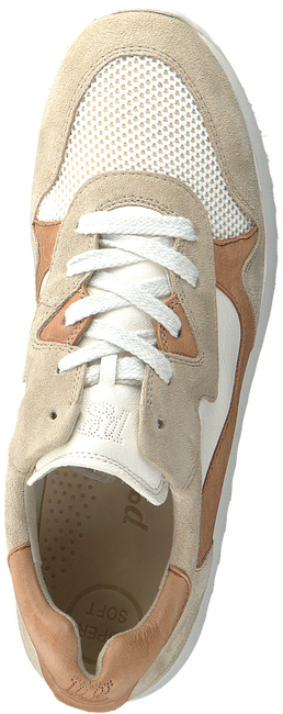 Beige PAUL GREEN Lage sneakers 4949  - large