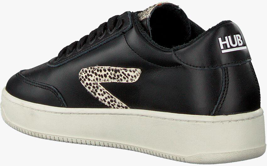 Zwarte HUB Lage sneakers BASELINE-W  - larger