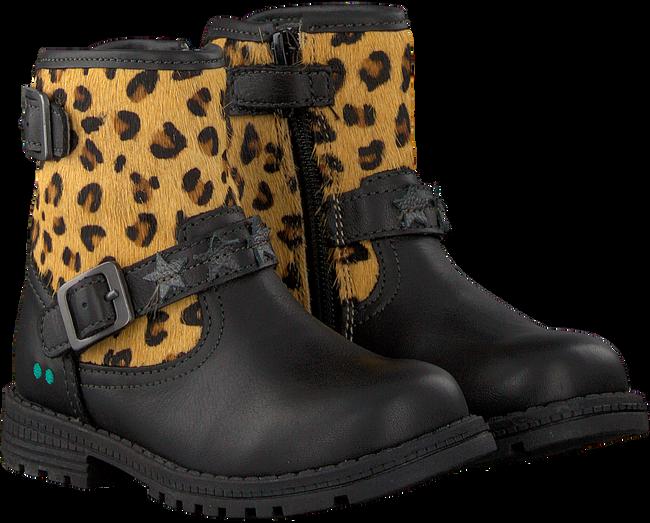 Zwarte BUNNIES JR Biker boots TINA TROTS - large