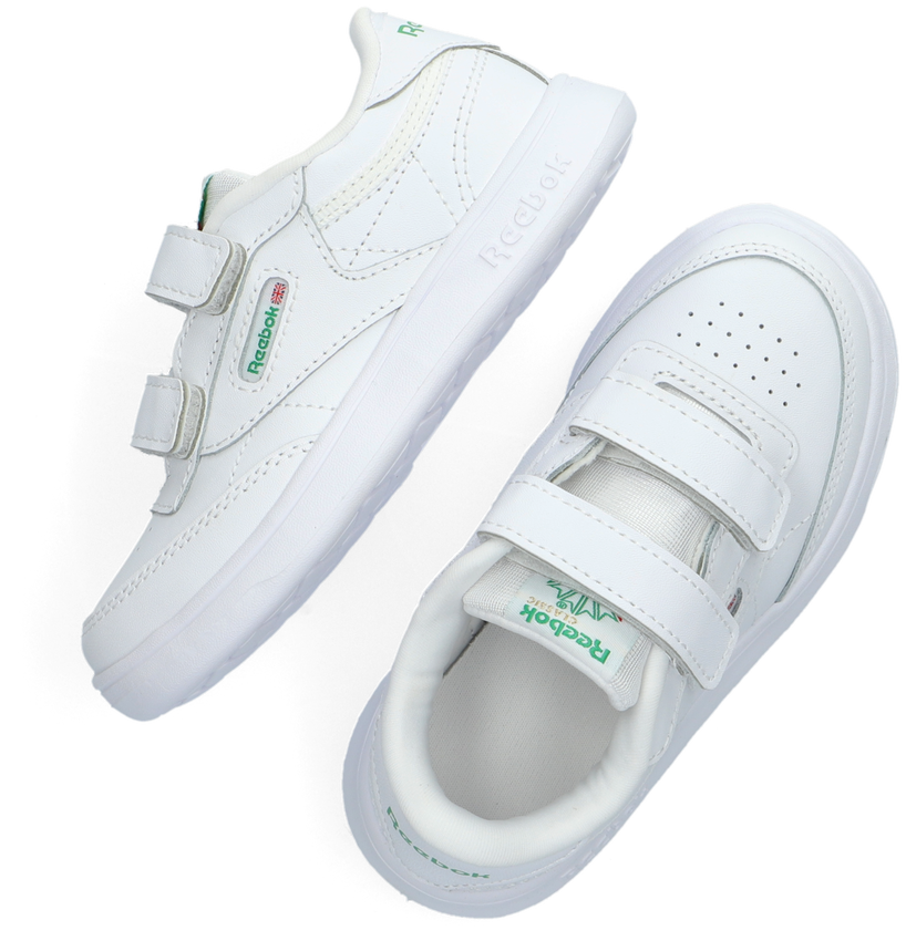 Witte REEBOK Sneakers CLUB C 2V  - larger