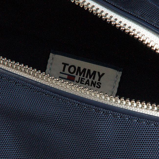 Blauwe TOMMY HILFIGER Heuptas LOGO TAPE BUMBAG  - large