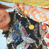 Gouden JEWELLERY BY SOPHIE Ketting HEARTBEAD - small