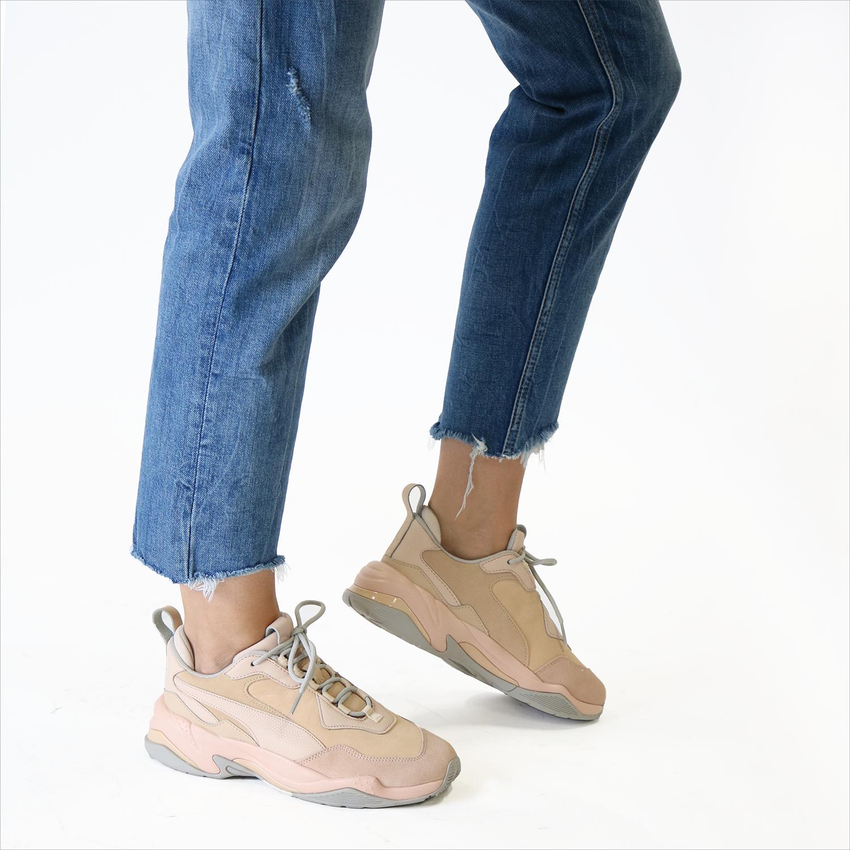 c9b43752610 Beige PUMA Sneakers THUNDER DESERT - Omoda.nl