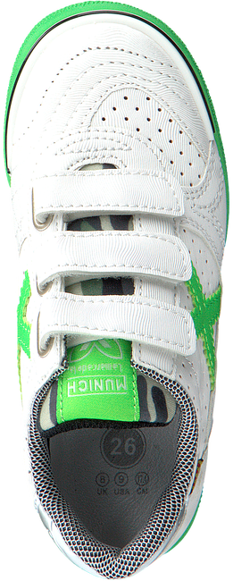 Witte MUNICH Sneakers G3 KID VELCRO - large