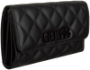 Zwarte GUESS Portemonnee ELLIANA SLG  - small