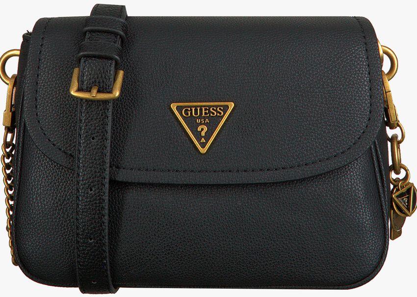 Zwarte GUESS Schoudertas DESTINY SHOULDER BAG  - larger