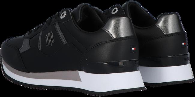 Zwarte TOMMY HILFIGER Lage sneakers TH INTERLOCK CITY  - large