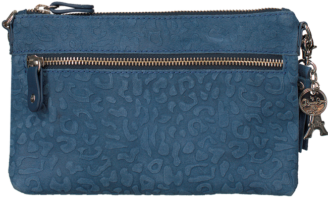Blauwe BY LOULOU Clutch 01POUCH117S - large