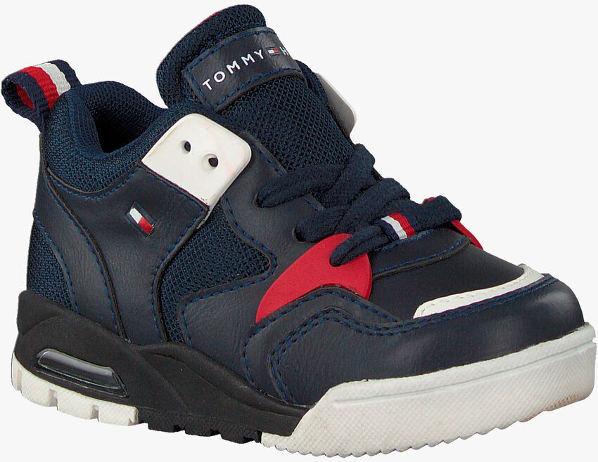 Blauwe TOMMY HILFIGER Lage sneakers 30910  - larger