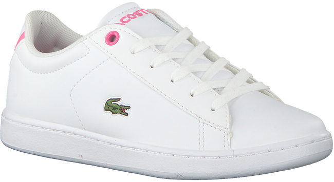 Witte LACOSTE Sneakers CARNABY EVO BL  - large
