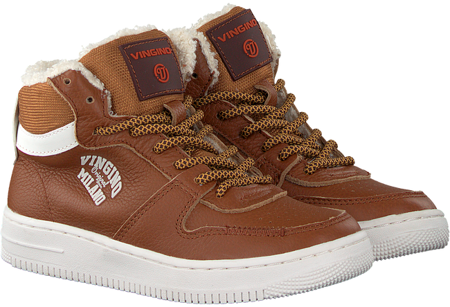 Cognac VINGINO Sneakers ELIA MID  - large