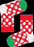 Rode HAPPY SOCKS Sokken BIG DOT SNOWMAN  - medium