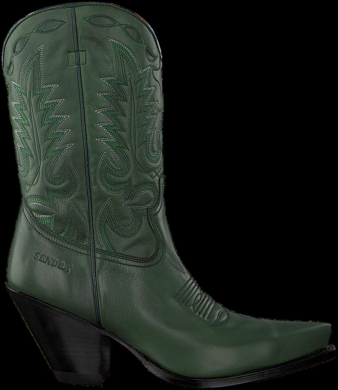 Groene SENDRA Cowboylaarzen 15838 | Omoda