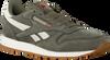 Groene REEBOK Sneakers CL LEATHER TL MEN - small