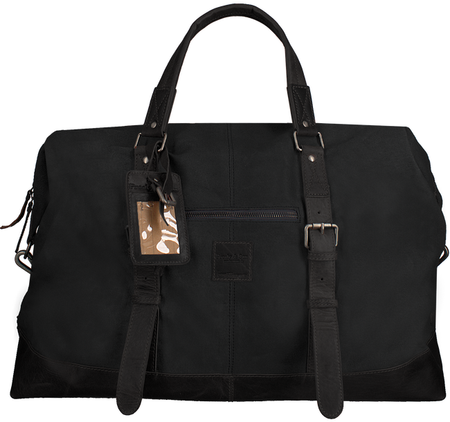 Zwarte LEGEND Handtas WEEKENDBAG - large