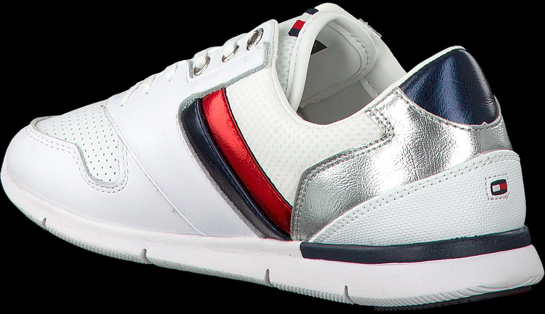 Witte Baskets Sneakers Tommy Hilfiger En Cuir Léger sXBSs