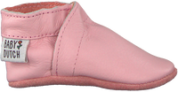 Roze BABY DUTCH Babyschoenen BABYSLOFJE  - medium