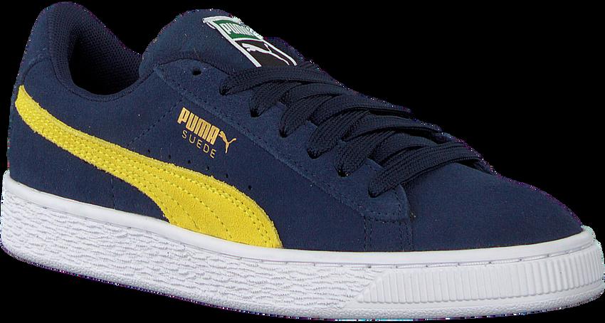 Blauwe PUMA Sneakers SUEDE CLASSIC JR  - larger